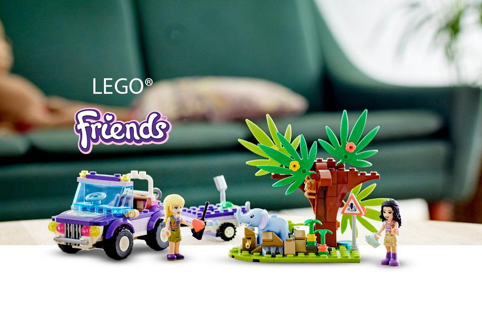 Shop LEGO® Friends Jungle Rescue.