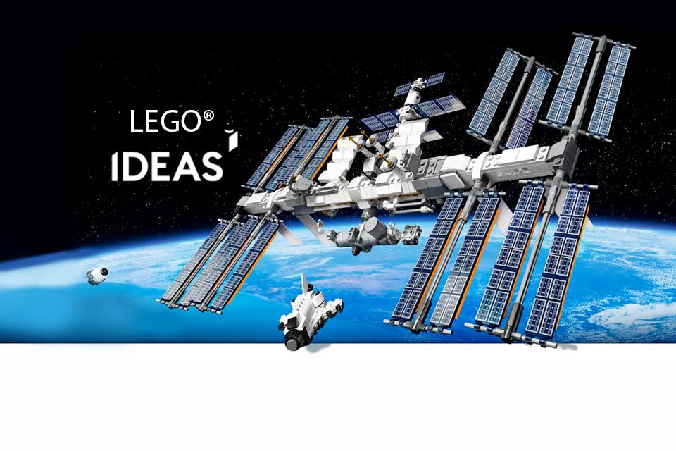 LEGO® LEGO® Ideas International Space Station.