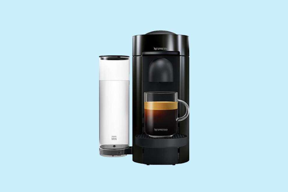 Nespresso by Magimix Vertuo Plus Pod Coffee Machine - Black.