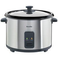 Breville - ITP181 18L Rice Cooker - and Steamer - St/Steel