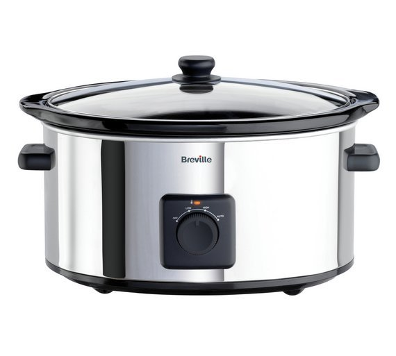 Image of Breville - ITP138 55L Slow Cooker - Stainless Steel