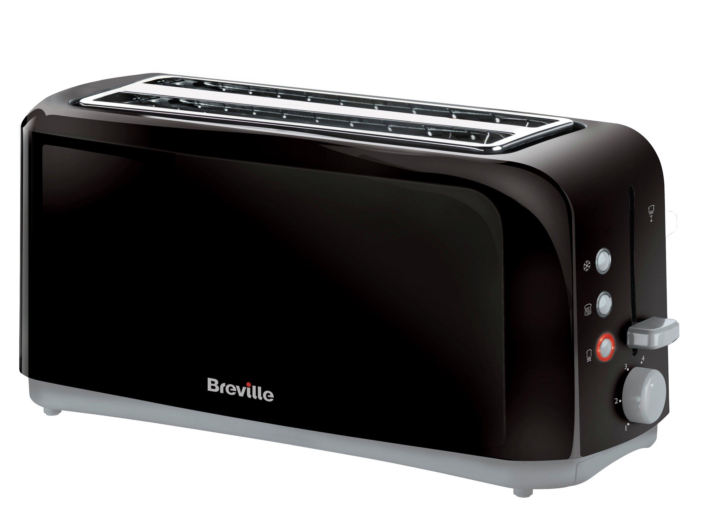 Breville - Toaster - VTT233 - 4 Slice - Black.
