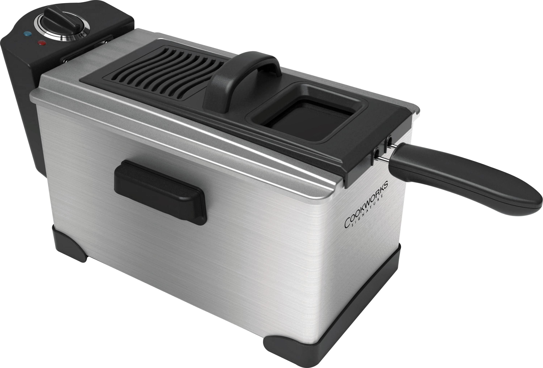 Cookworks - Professional Deep Fat Fryer - Stainless Steel
