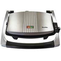 Breville - Toaster - VST025 - 3 Slice Sandwich Press - Stainless Steel