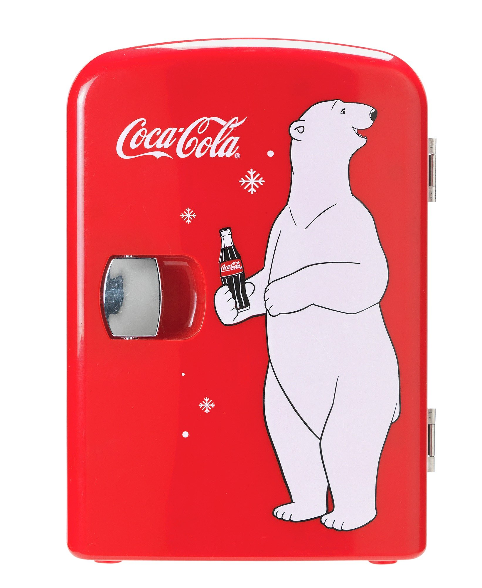 Coke Mini Fridge With Bear