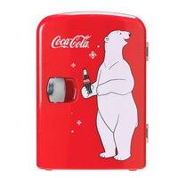 Coca Cola - Coke Mini Fridge With Bear