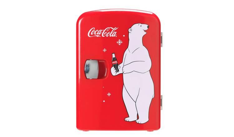 Coca Cola Fridge >> Buy Coke Mini Fridge With Bear Mini Fridges Argos