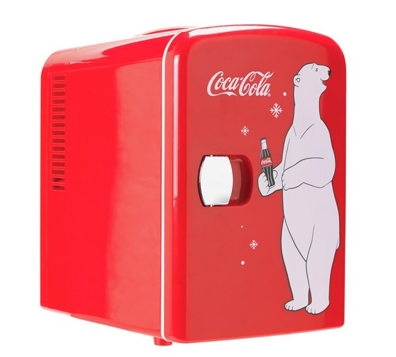 Details about Coke Mini Fridge With Bear Is A Classic Must-Have Accessory  Perfect For CocaCola