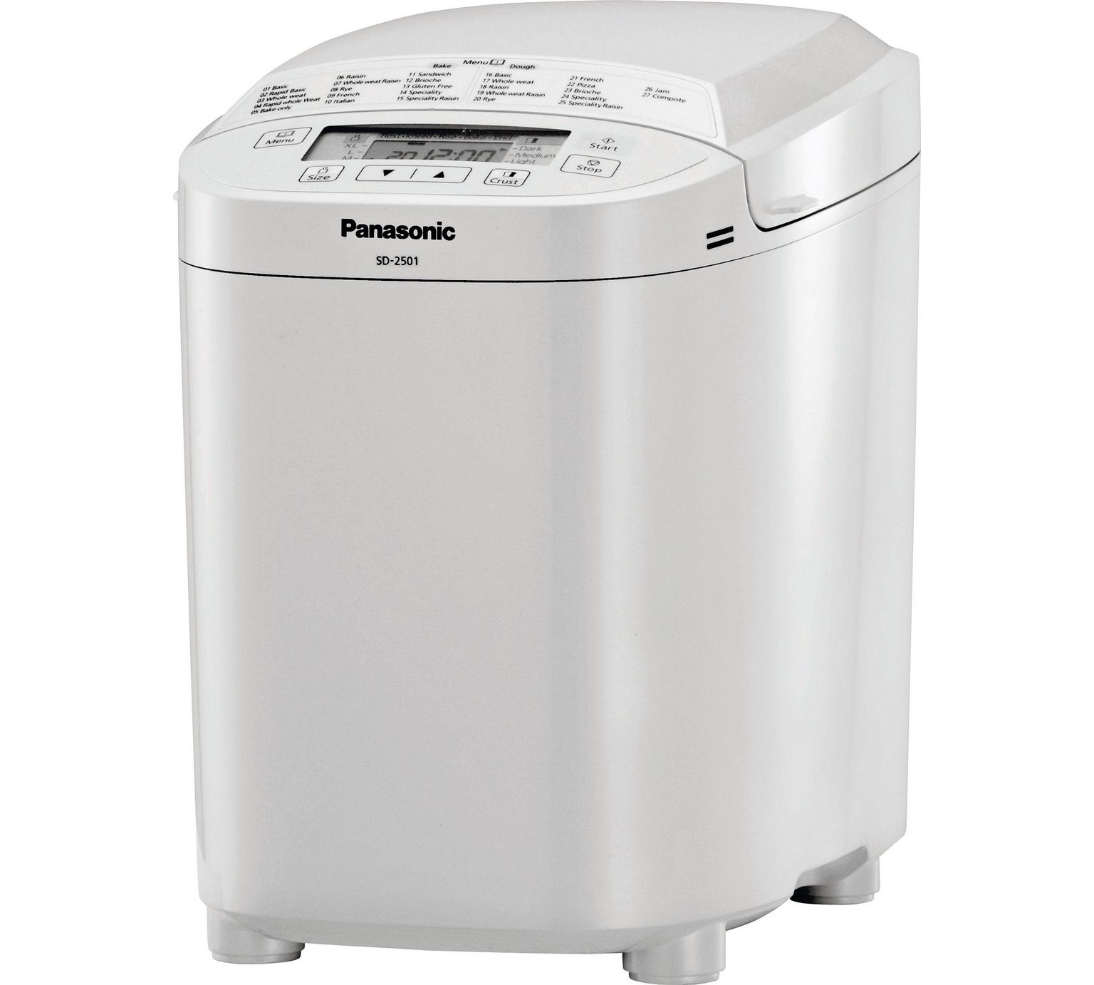 Panasonic SD2500 Breadmaker - White