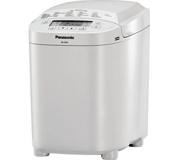 buy panasonic sd2500 breadmaker white breadmakers argos