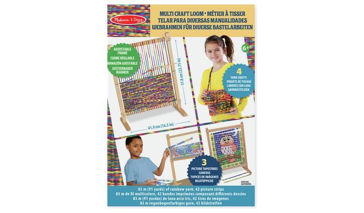 Buy Melissa Doug Multi Craft Weaving Loom Toy Craft Kits Argos