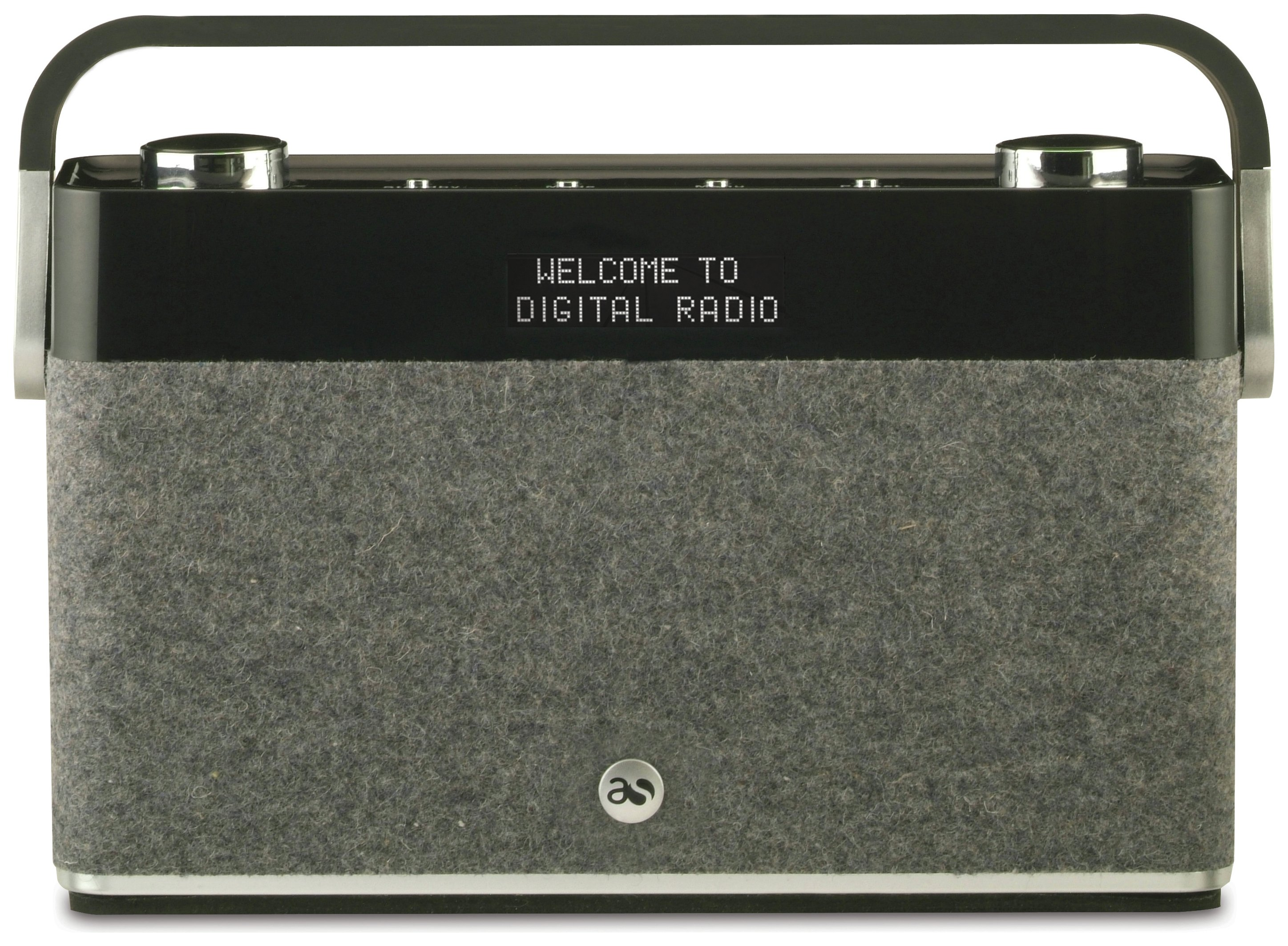 Image of Acoustic Solutions - DAB Radio - Black