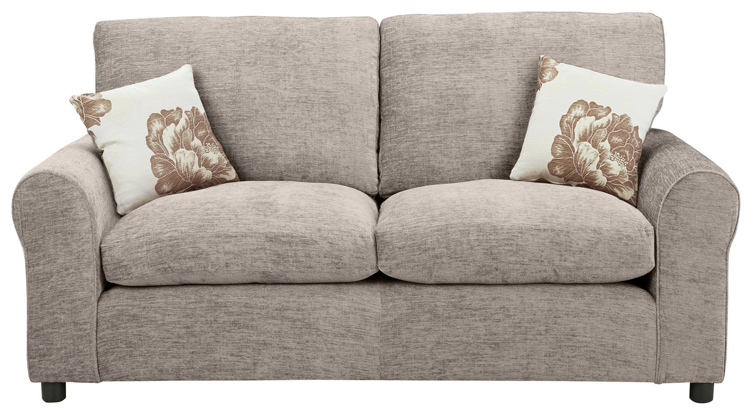 argos home tessa 2 seater fabric sofa bed mink 4240677. Black Bedroom Furniture Sets. Home Design Ideas
