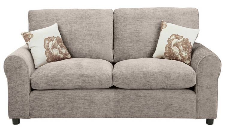 Buy Argos Home Tessa 2 Seater Fabric Sofa Bed - Mink | Limited ...