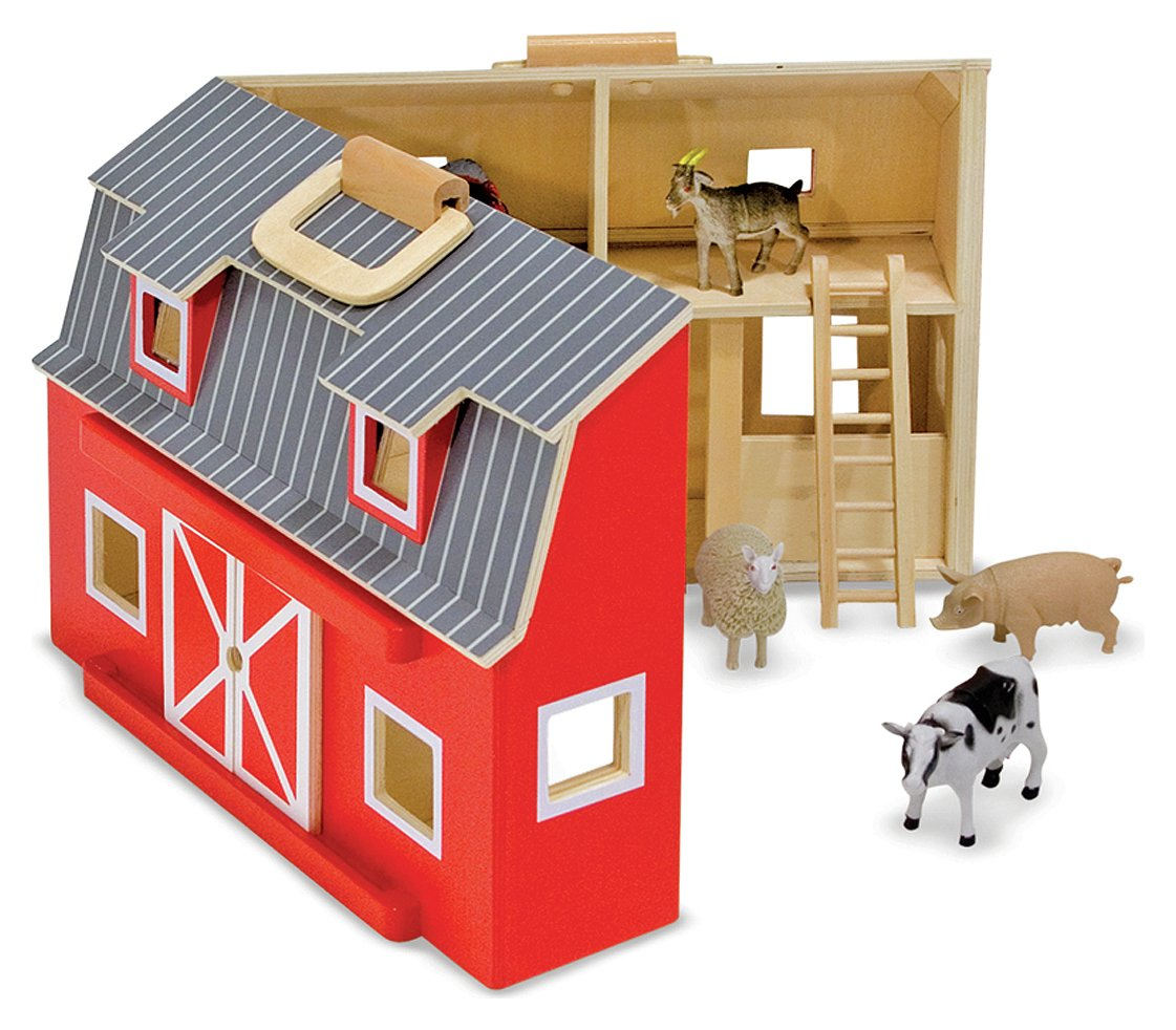 Melissa and Doug - Fold and Go Barn