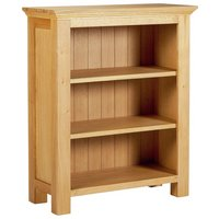 Westminster Small Bookcase (Oak & Oak Veneer)