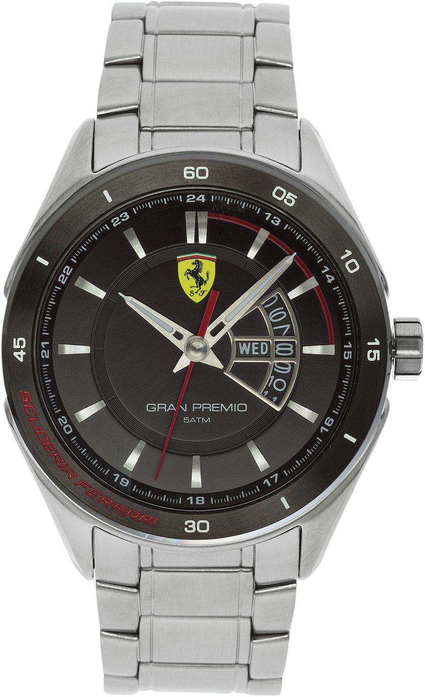 Scuderia Ferrari Gran Premio Men's Stainless Steel Watch