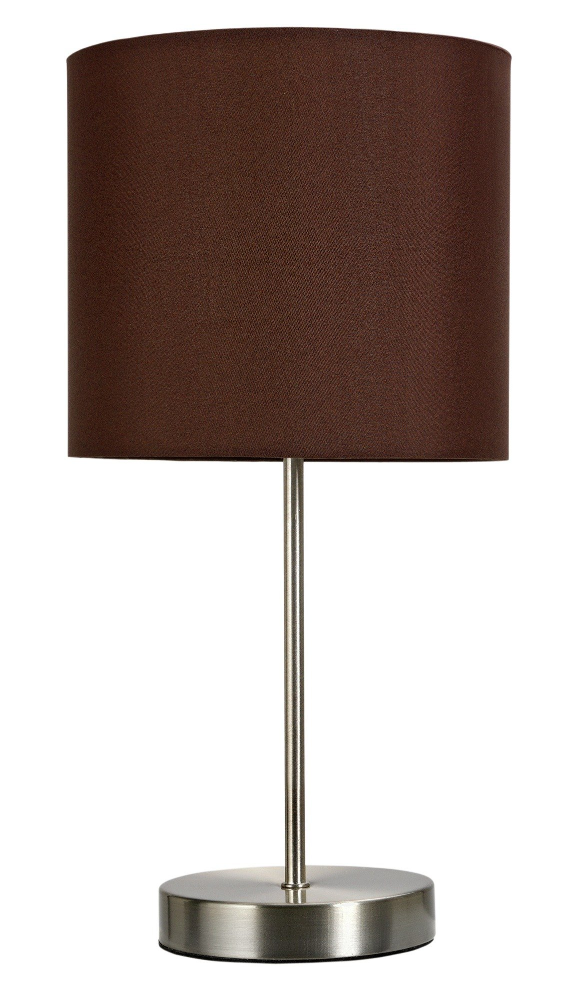 ColourMatch - Satin Stick - Table Lamp - Chocolate