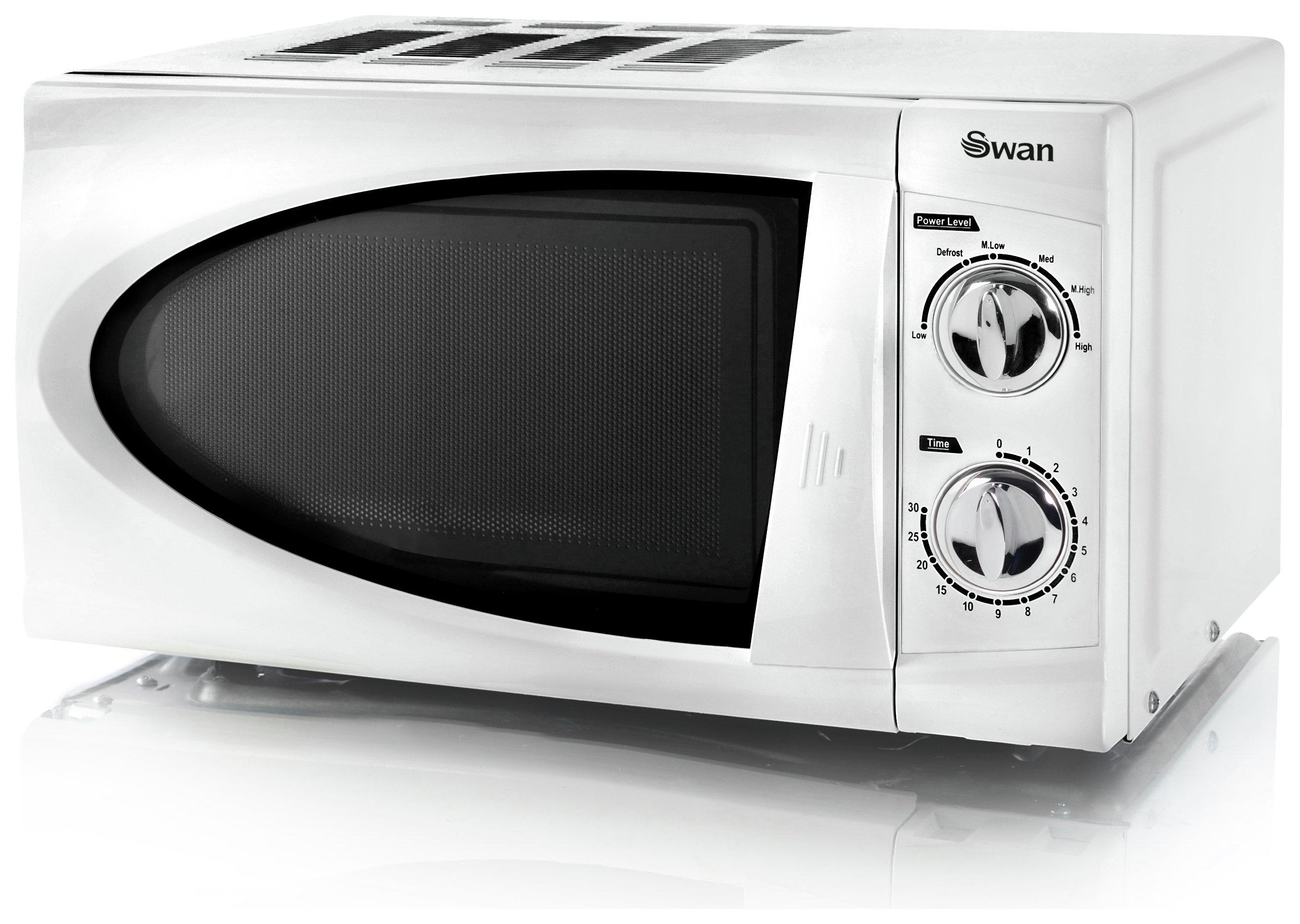 Swan - Standard Microwave -SM3090N -White