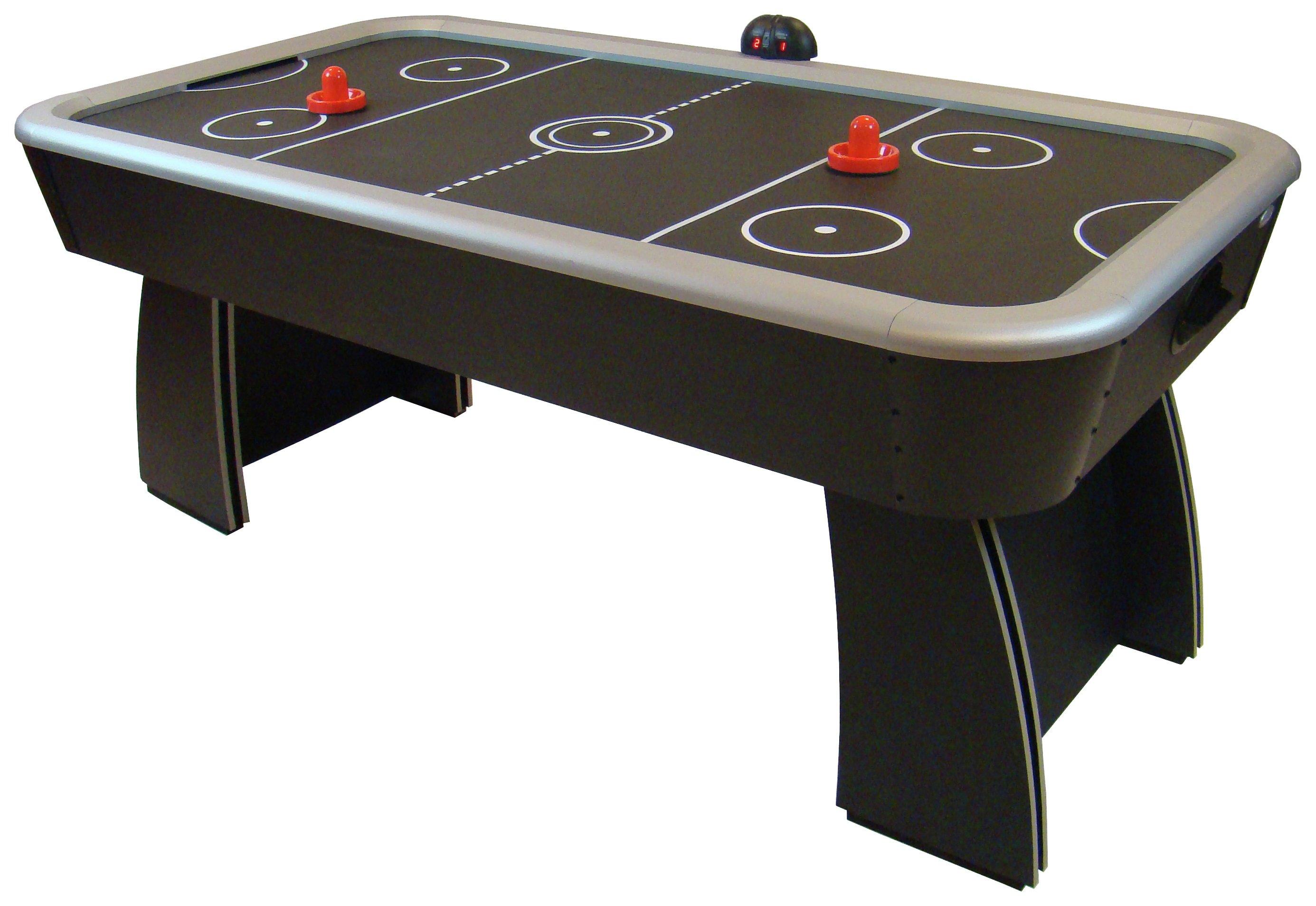 Gamesson 6ft Spectrum Air Hockey Table (Black)