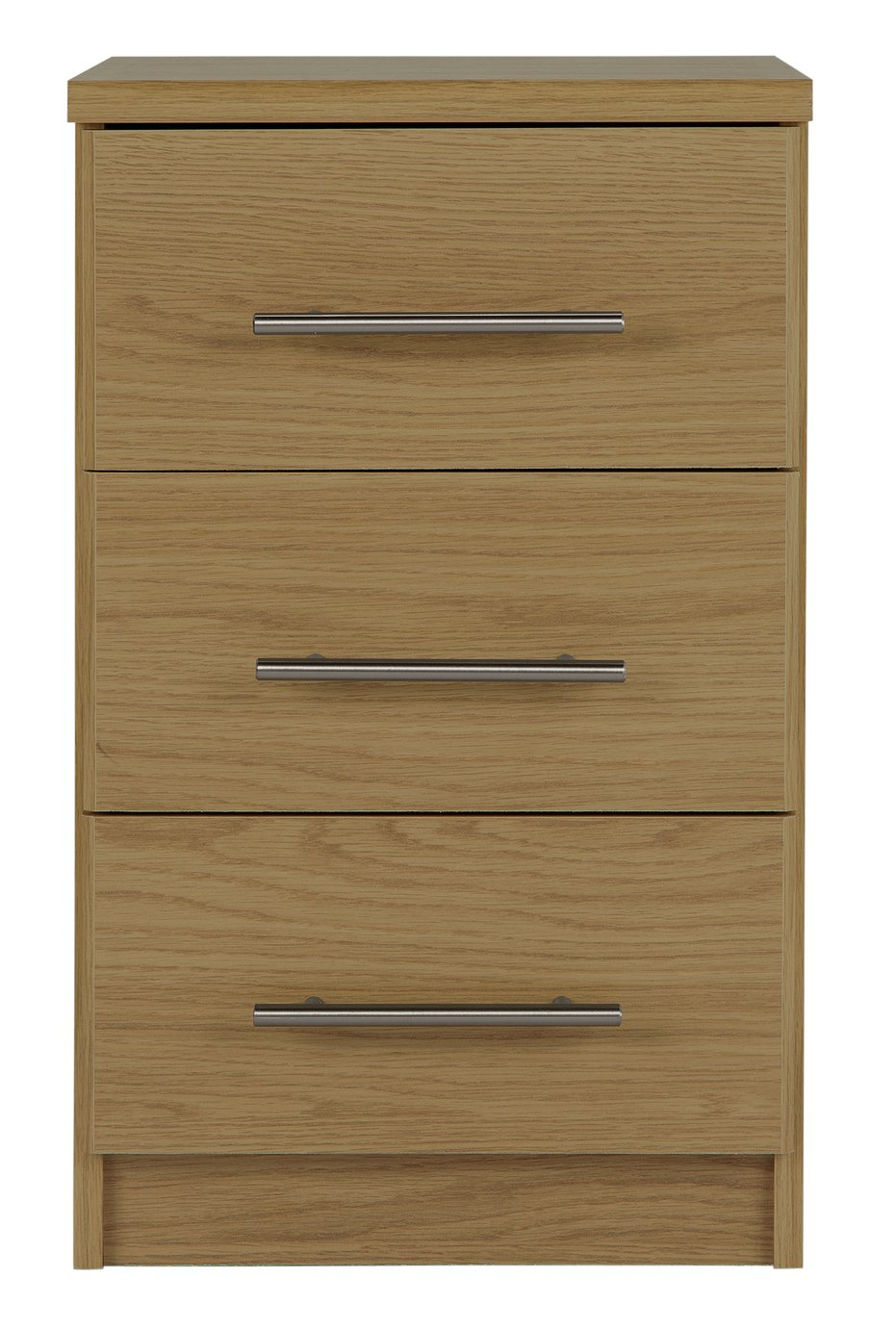Argos Home Normandy 3 Drawer Bedside Chest