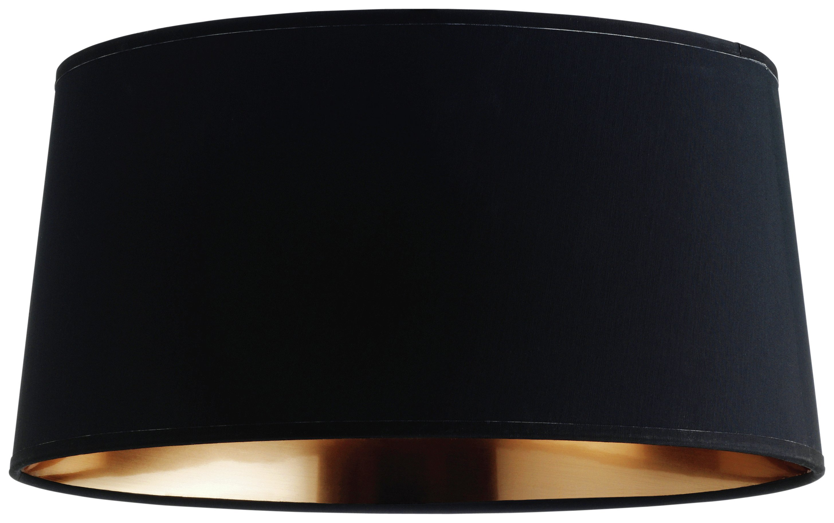 Habitat mini grande tapered lampshade black