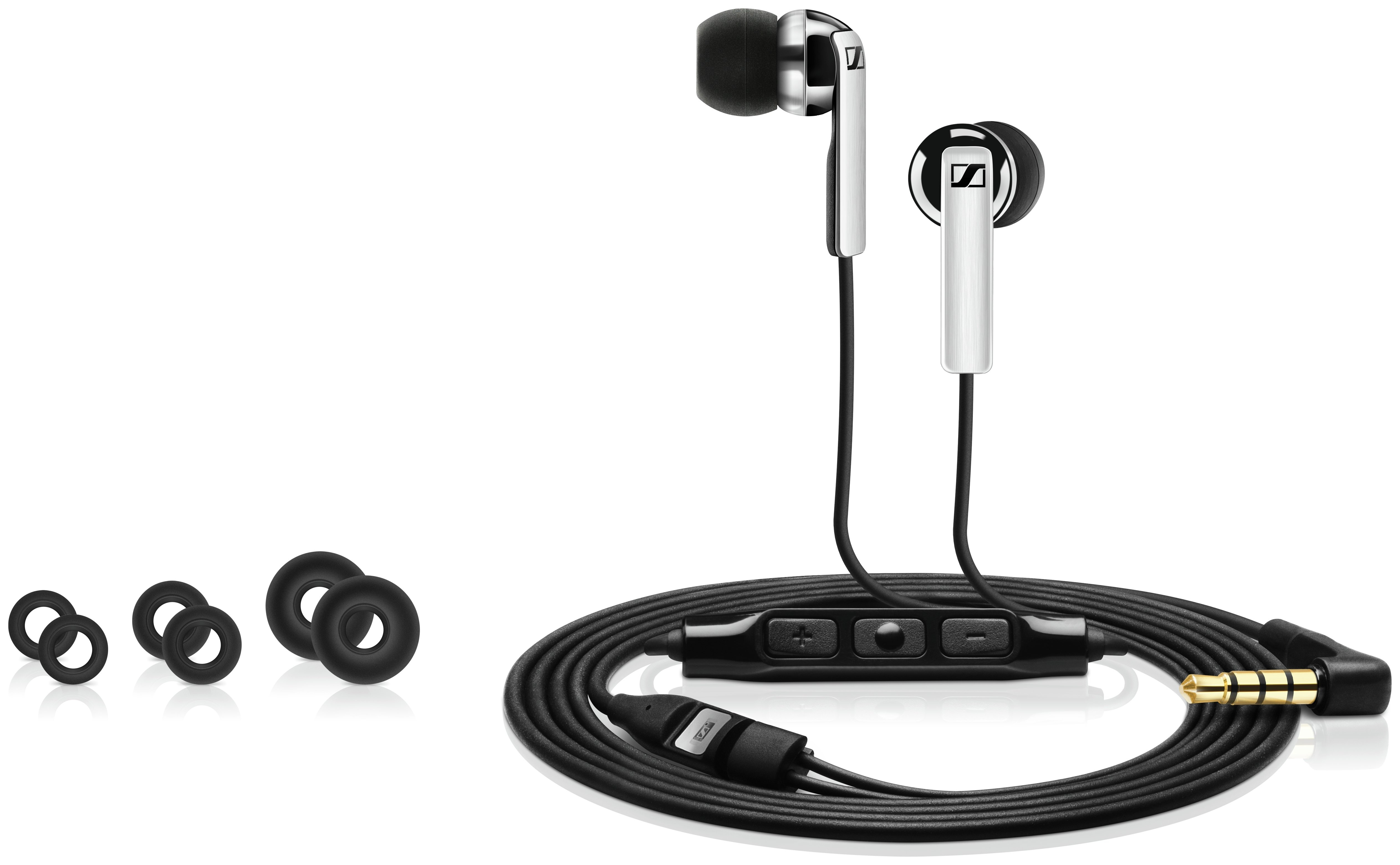 Sennheiser CX 2.00i In-Ear Headphones for iOS - Black