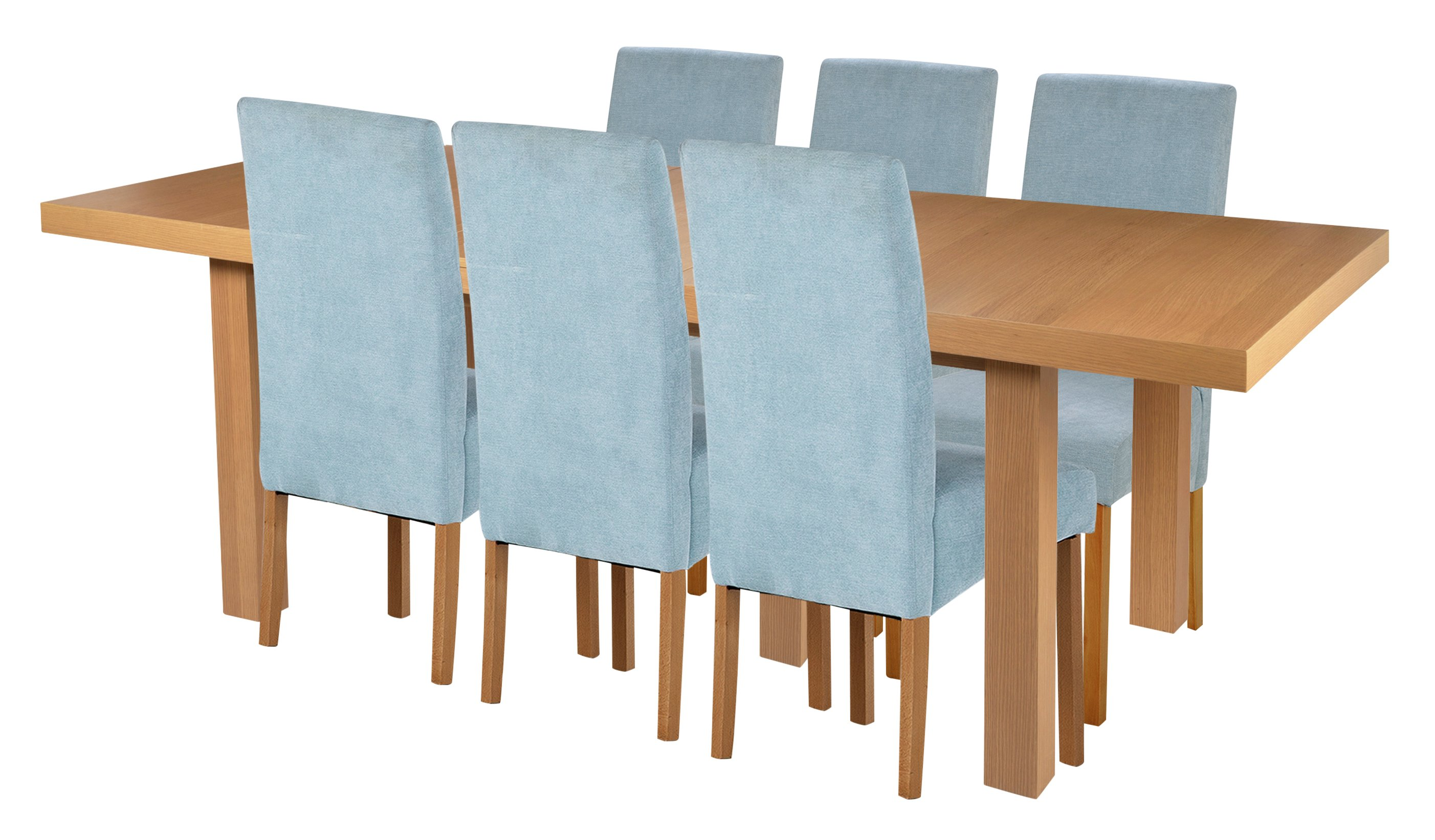 cosgrove extendable oak dining table and 6 cream chairs. click to zoom cosgrove extendable oak dining table and 6 cream chairs