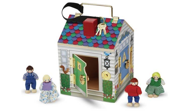 Buy Melissa Doug Doorbell House Dolls Houses Argos