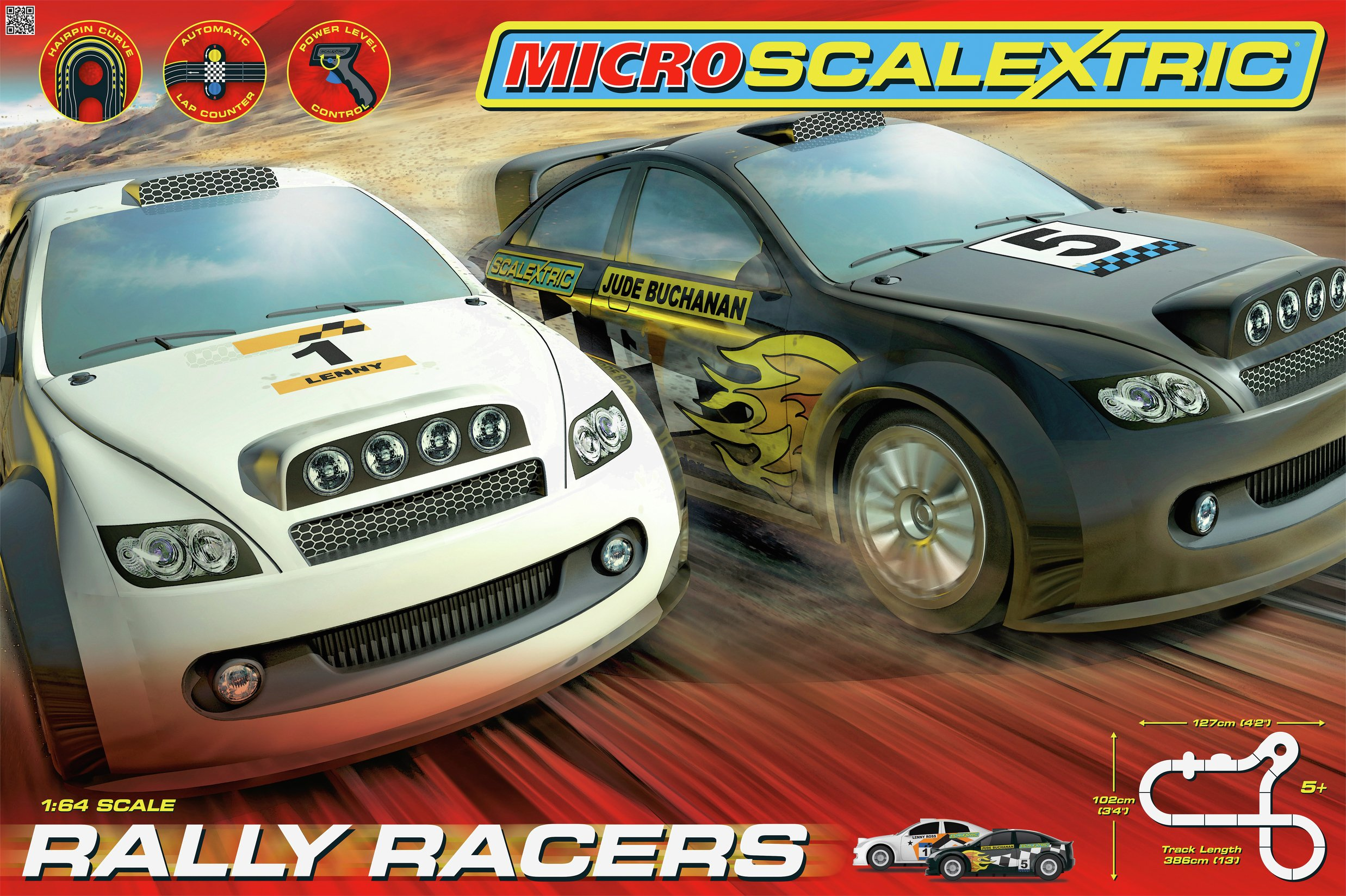 Scalextric Rally Racers.