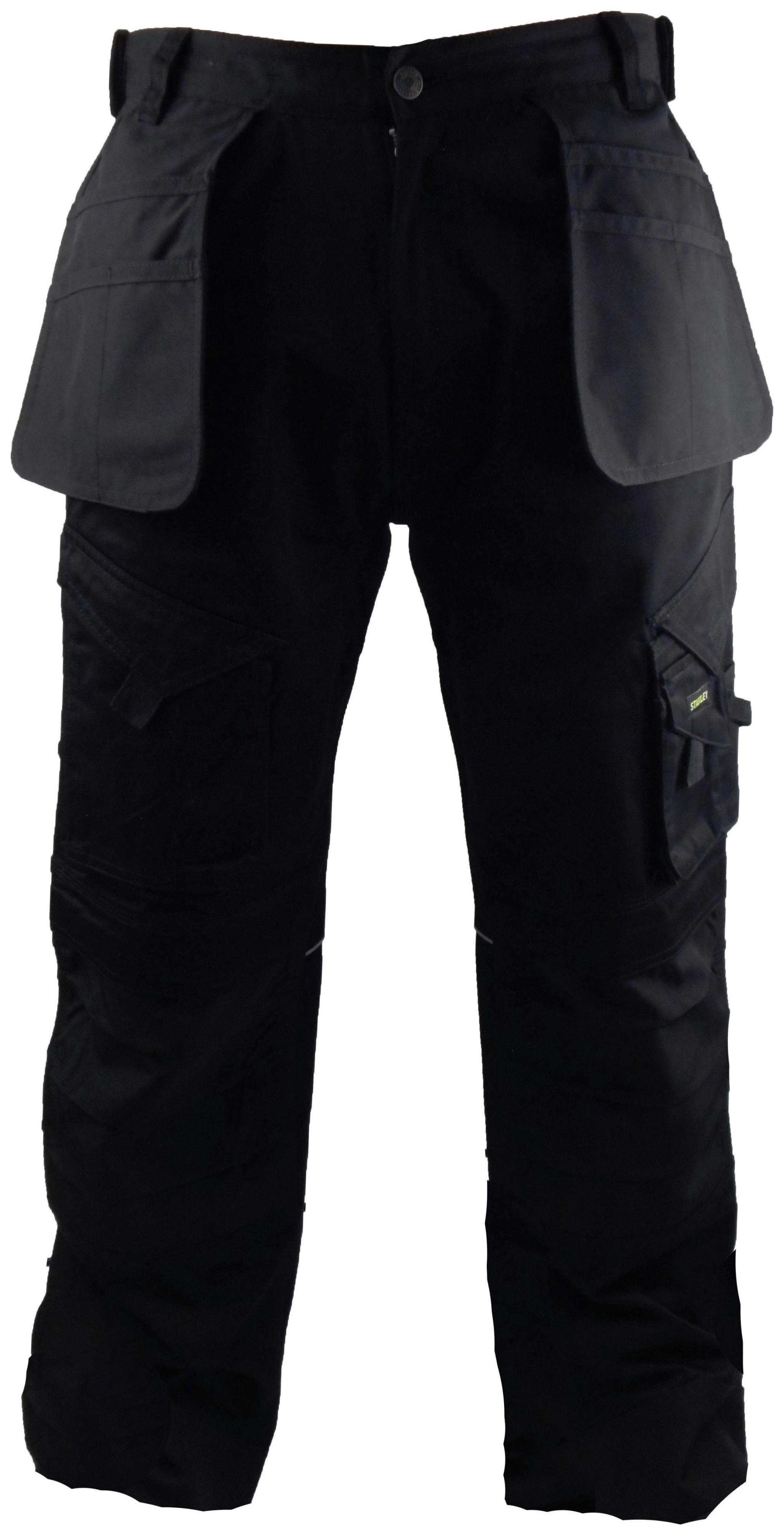 Image of Stanley - Colorado - Mens - Black Trouser - 31 to 38 inch