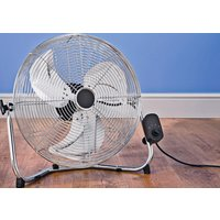 Challenge Chrome High Velocity Tilting Fan - 18 Inch