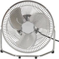 Challenge - Chrome Tilting Desk - Fan - 9 Inch