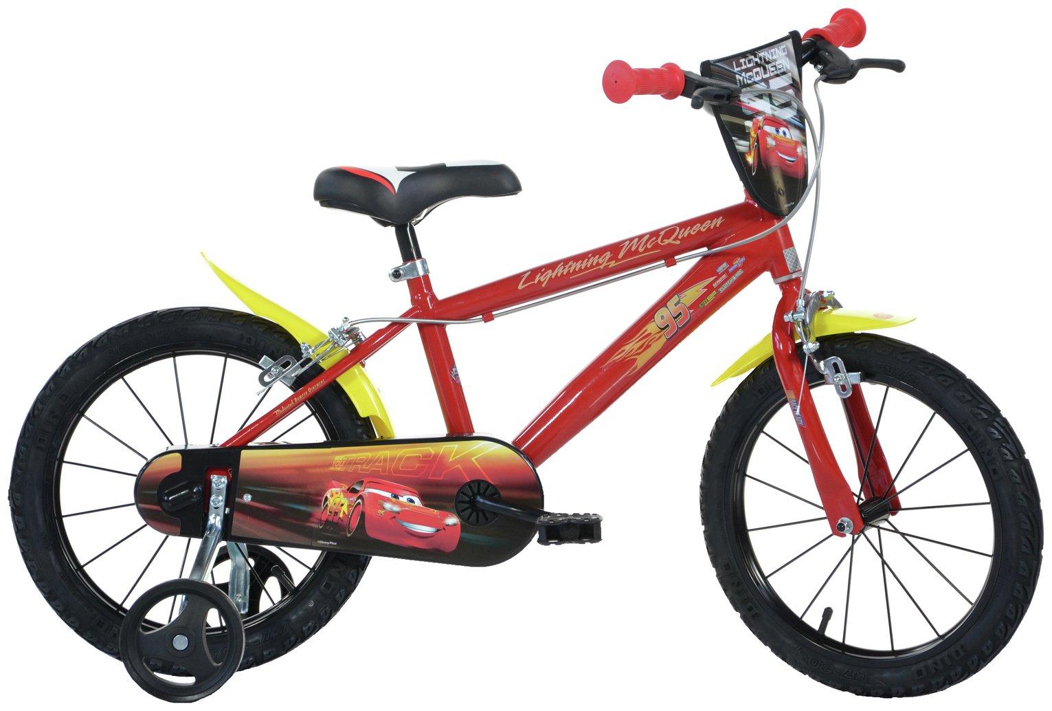 Disney Cars 16 Inch Kids Bike