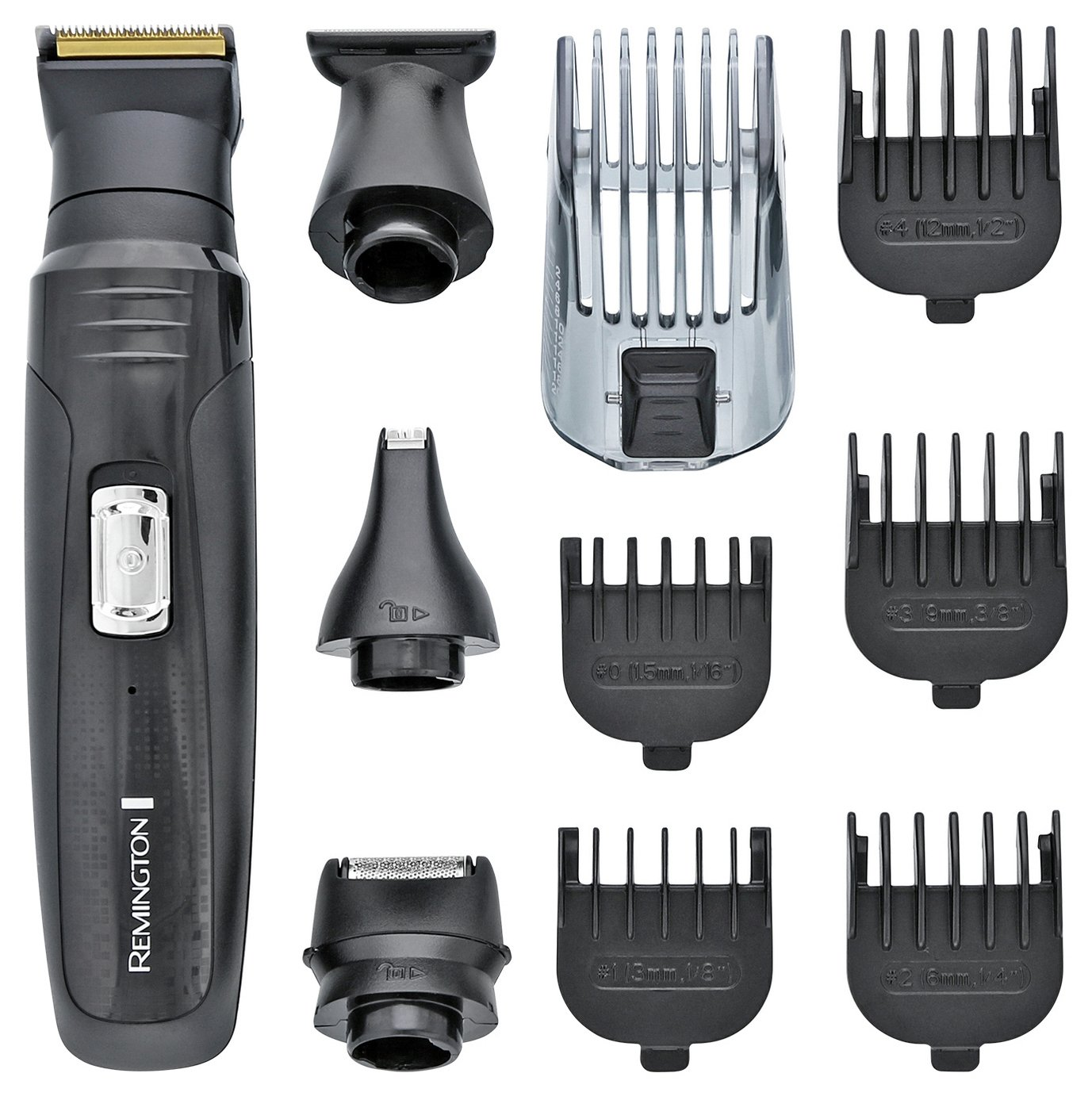 Remington 10 in 1 Body Groomer and Hair Clipper Kit PG6130