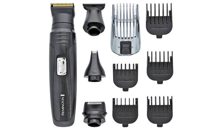 Buy Remington All-in-One 10 Piece Grooming Kit PG6130 | Beard and stubble  trimmers | Argos