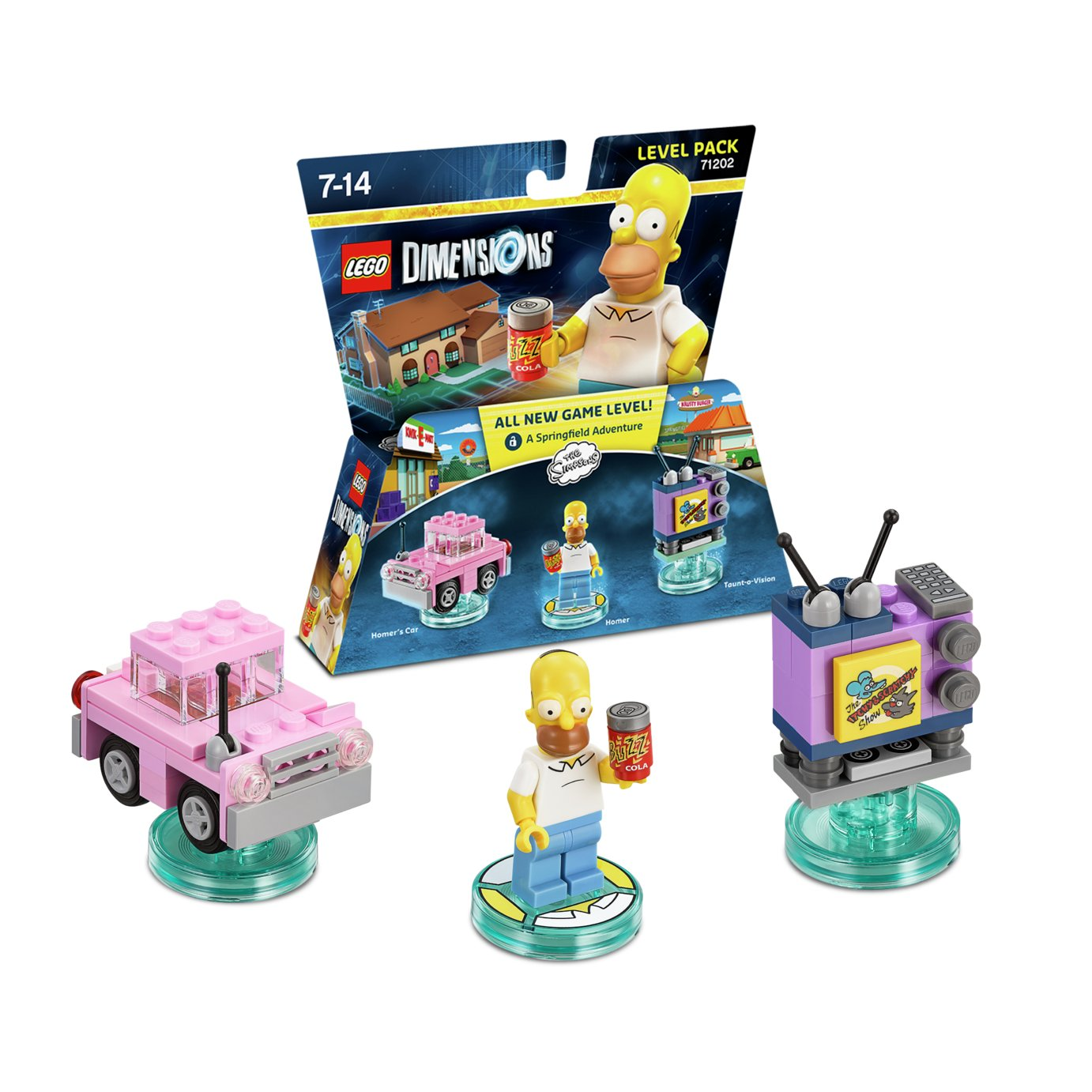 LEGO dimensions LEGO Dimensions: Homer Simpson Level Pack.