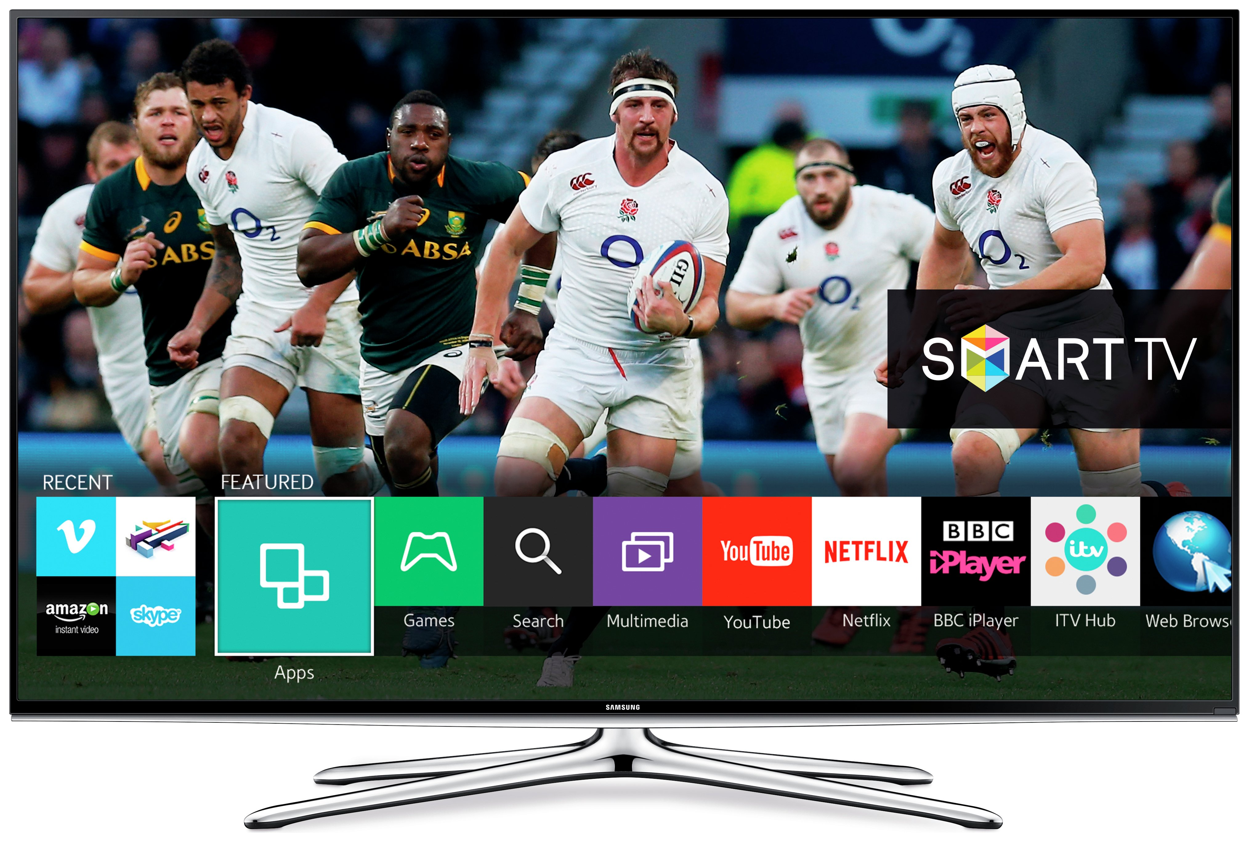 Image of Samsung - 55 Inch - 55H6200 - Full HD Freeview HD - Smart 3D TV.