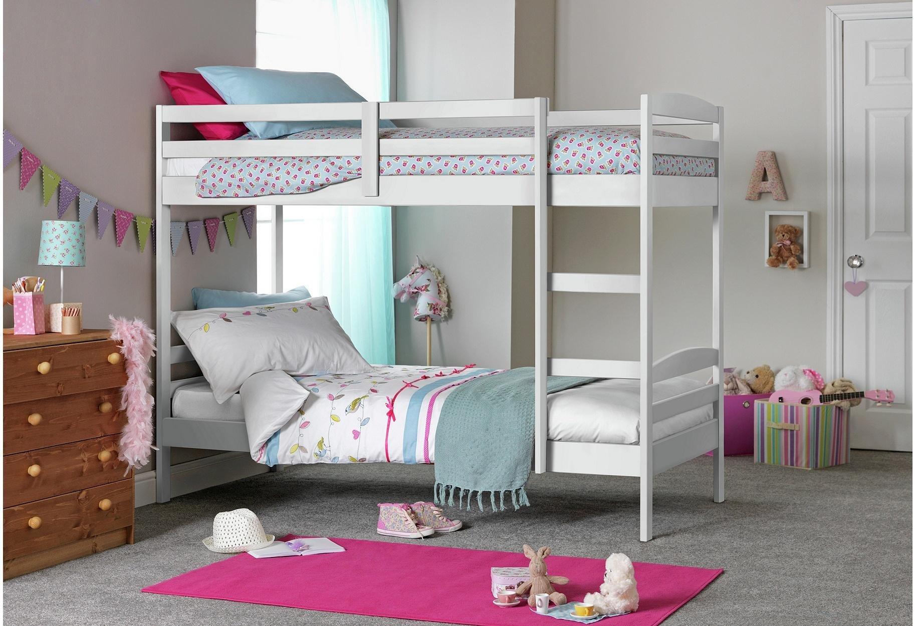 Argos Home Josie Shorty Bunk Bed Frame - White