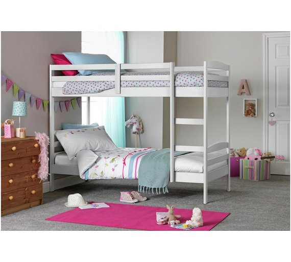 Buy Argos Home Josie Shorty Bunk Bed Frame White Kids Beds Argos
