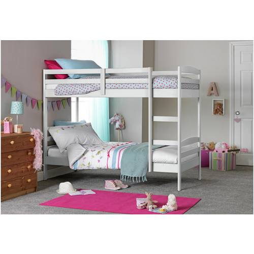 Buy Argos Home Josie White Shorty Bunk Bed Frame Kids