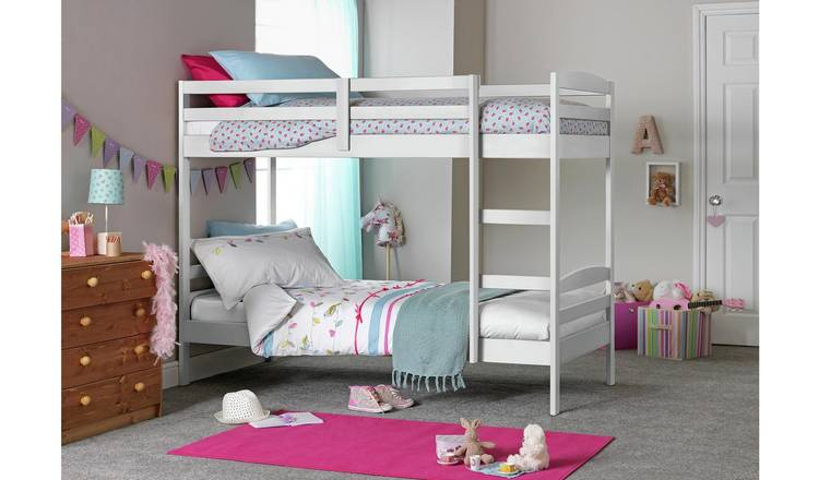 Argos Home Josie Shorty Bunk Bed Frame - White