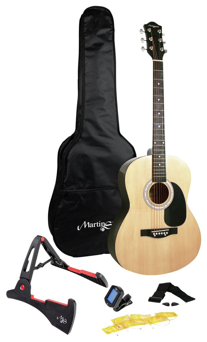 Martin Smith Full Size Acoustic Guitar and Accessories