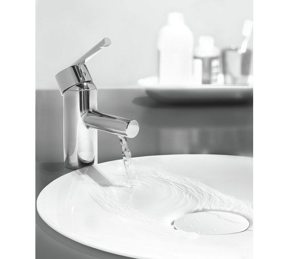 Buy Grohe Feel Basin Mixer Tap | Bathroom taps and mixers | Argos