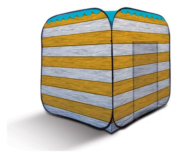 Olpro 1 Door Pop-up Beach Hut - Yellow