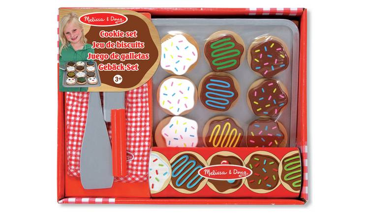 Melissa & Doug Wooden Cookie Set