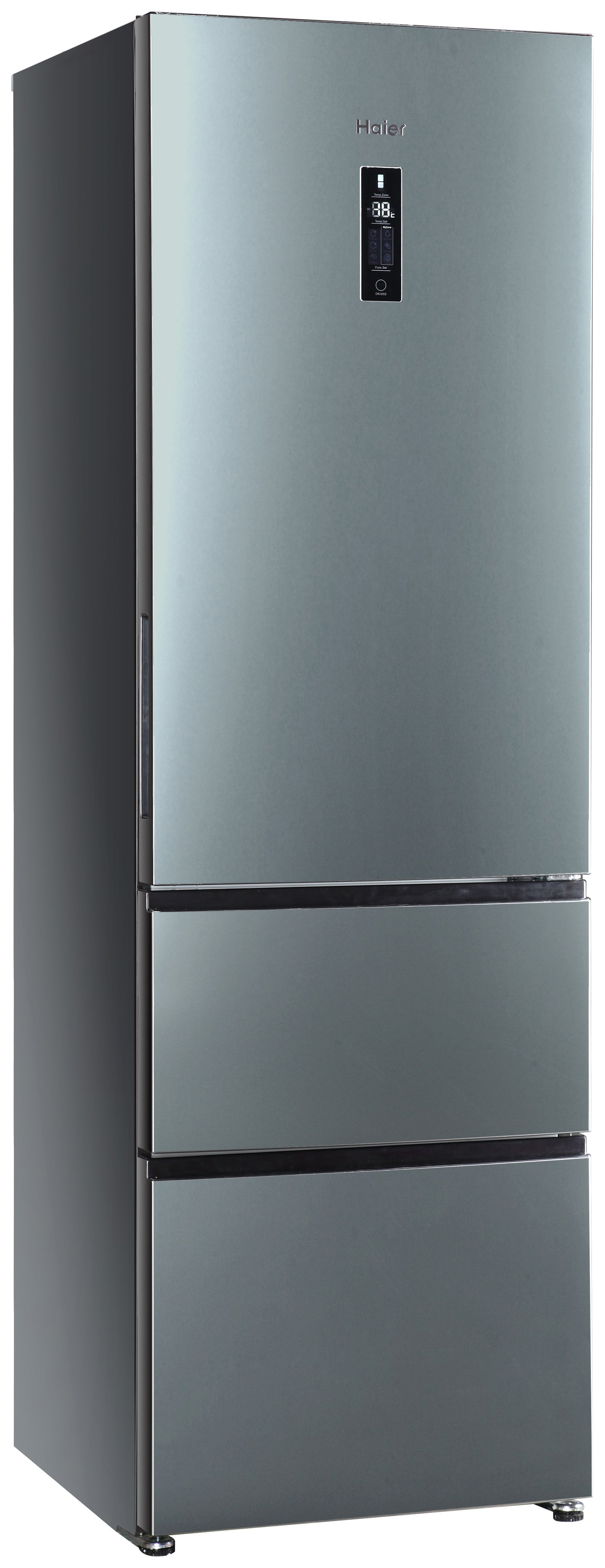 Image of Haier - A2FE635CFJ - Fridge Freezer - Stainless Steel