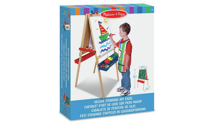 Buy Melissa Doug Deluxe Standing Art Easel Painting Drawing And Colouring Toys Argos