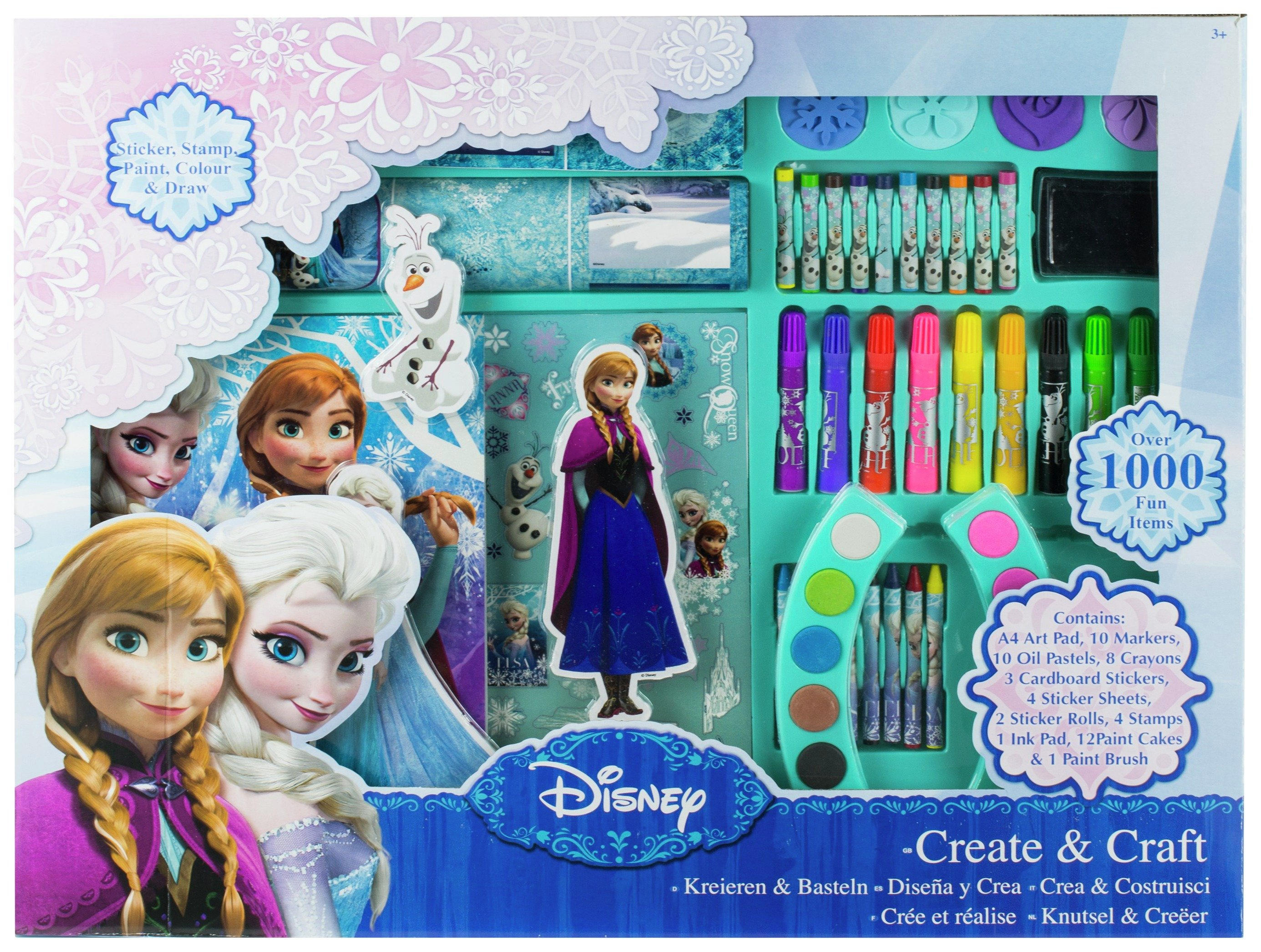 disney frozen create and craft.