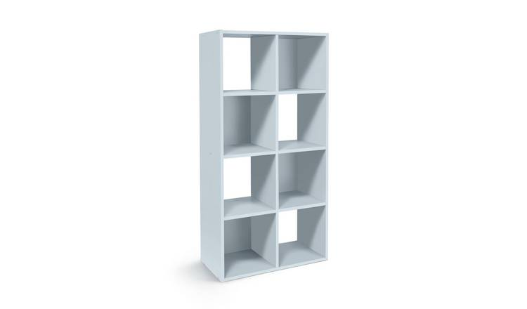 Habitat Squares 8 Cube Storage Unit - Grey